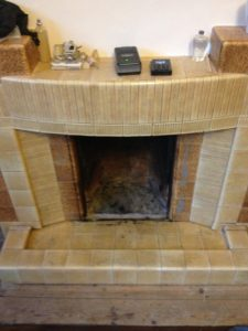 Old fireplaces works on