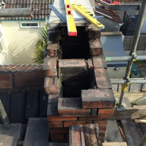 chimney stack rebuilding
