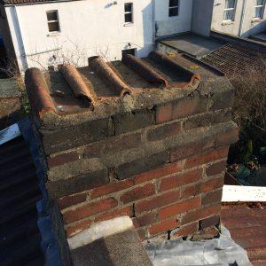incorrect chimney sealing
