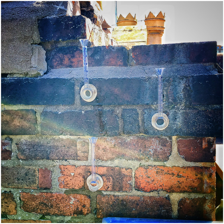 chimney stack porosity testing