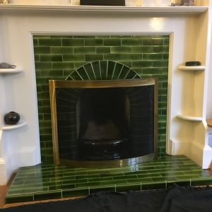 Fireplace Tiles Refurbished