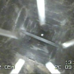 CCTV survey of chimney