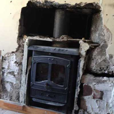 we survey and fix stove installations