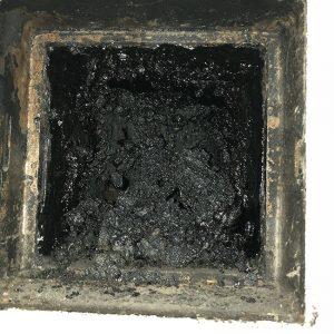 chimney tar removal